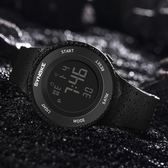 手錶—簡約潮流男士手錶防水夜光男孩女中學生兒童鬧鐘多功能運動電子錶 依夏嚴選