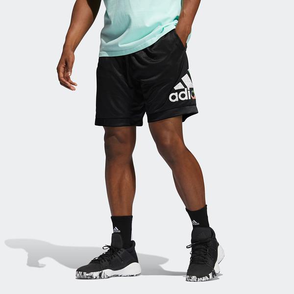 Adidas Abstract Short [GH6723] 男 短褲 運動 籃球 休閒 舒適 吸濕 排汗 黑
