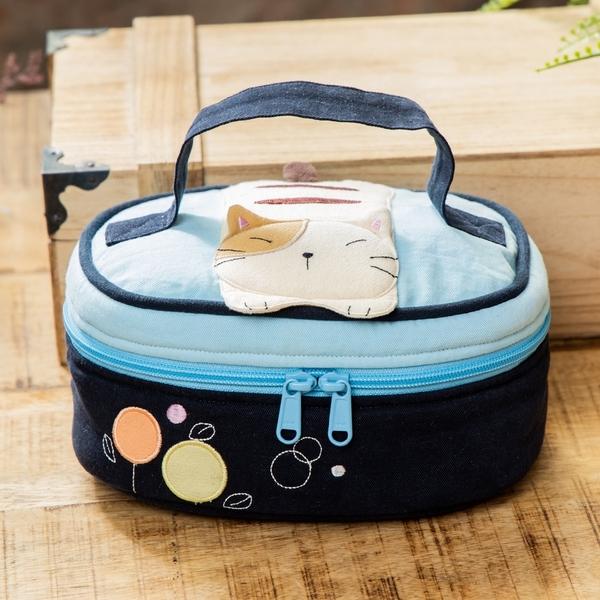 Kiro貓 旅行收納 手提包/化妝包/盥洗包【820206】