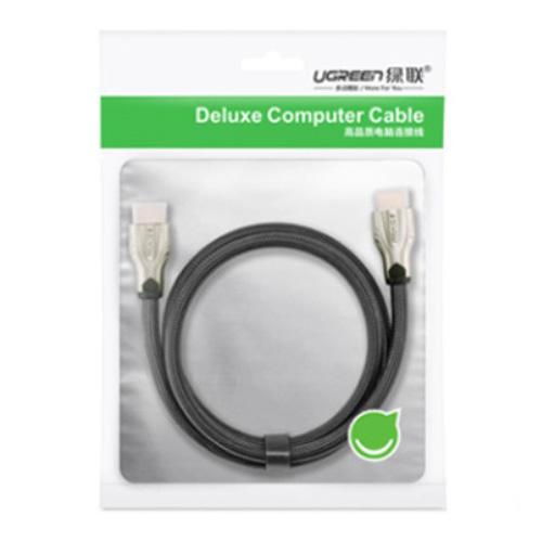 UGREEN 綠聯 11191 HDMI 2.0 傳輸線 Zinc Alloy BRAID版 2米 2M