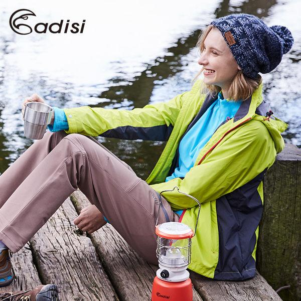 ADISI 女天鵝絨防潑水防風保暖可拆式連帽外套AJ1621043 (S~2XL) / 城市綠洲專賣(可拆帽、撥水、環保)
