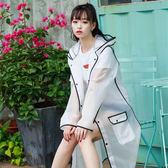 旅行透明雨衣女成人外套韓國時尚男戶外徒步雨披單人長款防雨便攜 【全館85折最後兩天】