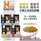 【HyperrRAW超躍】小獵士五色生鮮餐 綜合口味 500克4件組