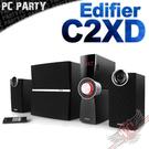 [ PC PARTY ]漫步者 Edifier C2XD 2.1聲道喇叭 光纖輸入