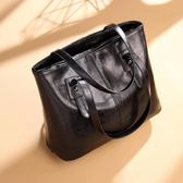托特包女包包2019新款時尚大氣手提包簡約大容量通勤側背包女大包媽媽包 衣間迷你屋