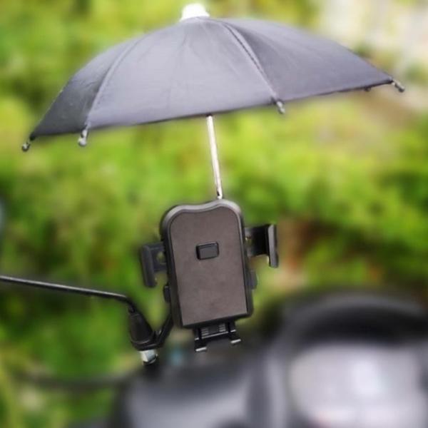 外賣傘手機遮陽小雨傘道具傘裝飾傘迷你傘純色兒童傘【小花貓】熊貓外送 Uber外送
