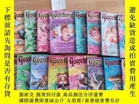 二手書博民逛書店Goosebumps:The罕見Haunted Mask Go Eat Worms等21本合售Y246207