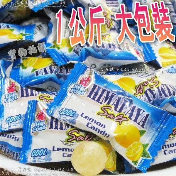馬來西亞 BF薄荷玫瑰鹽檸檬糖(1公斤)大包裝-艾發現