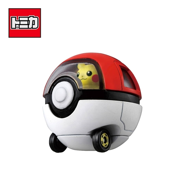 【日本正版】TOMICA 騎乘系列 R10 皮卡丘 x 寶貝球車 寶可夢 玩具車 多美小汽車 - 119432