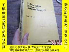 二手書博民逛書店an罕見introductory approach to ope
