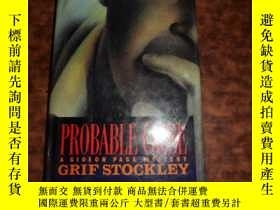 二手書博民逛書店GRIF罕見STOCKLEY: PROBABLE CAUSEY1