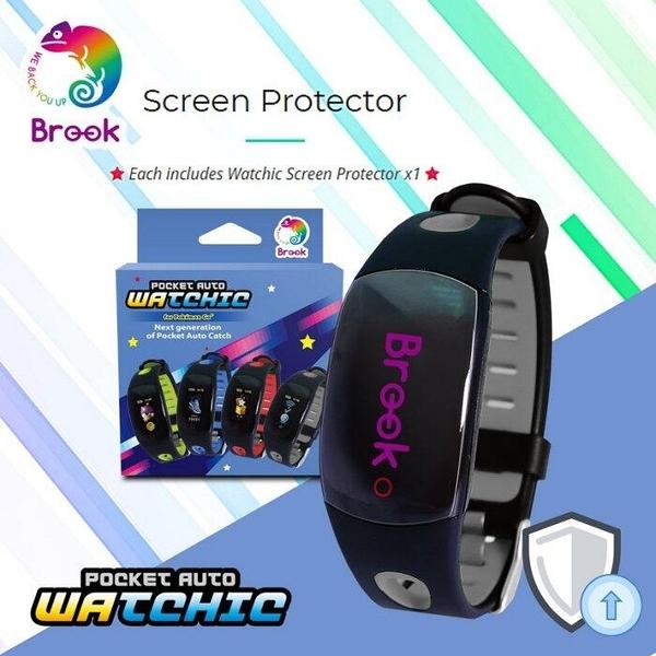 [哈GAME族]消費滿$399免運費 可刷卡 四代Brook自動抓寶手錶專屬保護貼 Pocket Auto Watchic