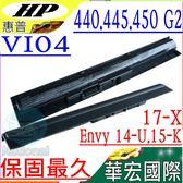 HP VI04 電池(保固最久)-惠普 14-U電池,15-K電池,15-X,17-X電池,17-F電池,VI04,HSTNN-LB6K,HSTNN-UB6I