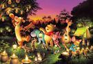 【拼圖總動員 PUZZLE STORY】Disney-森林裡的燭光派對 日系/Tenyo/迪士尼/小熊維尼/1000P
