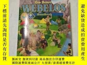 二手書博民逛書店Cub罕見Scout Webelos Handbook(英文原版