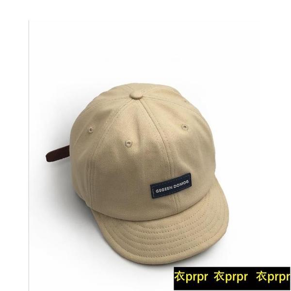 【YPRA】棒球帽 短檐鴨舌帽原創美式復古皮帶帽子