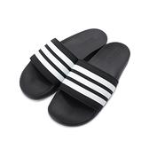 ADIDAS ADILETTE COMFORT 套式拖鞋 黑白 AP9971 男鞋 鞋全家福