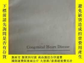 二手書博民逛書店Congenital罕見Heart Disease(先天性心臟病