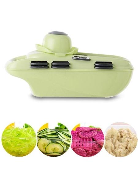 家用土豆絲切絲器廚房用品多功能切菜蘿卜擦絲土豆片切片刨絲神器 草莓妞妞