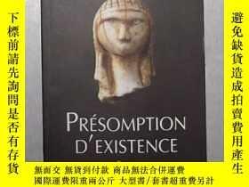 二手書博民逛書店法語原版罕見Presomption d existence de