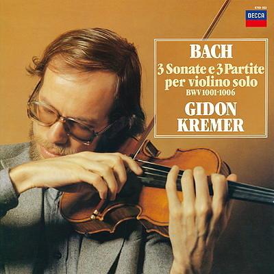 【停看聽音響唱片】【黑膠LP】J.S. Bach:3 Sonate E 3 Partite.Gidon Kremer