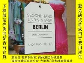 二手書博民逛書店SECONDHAND罕見VINTAGE- BERLIN (Shopping-FUHRER) 德文原版24開 柏林二
