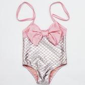 聖誕免運熱銷 兒童泳裝新款美人魚兒童游泳衣 寶寶女童泳衣 閃光魚鱗泳裝