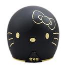 【東門城】EVO 智同 CA-309 黑金KITTY 精裝版(黑) 半罩式安全帽
