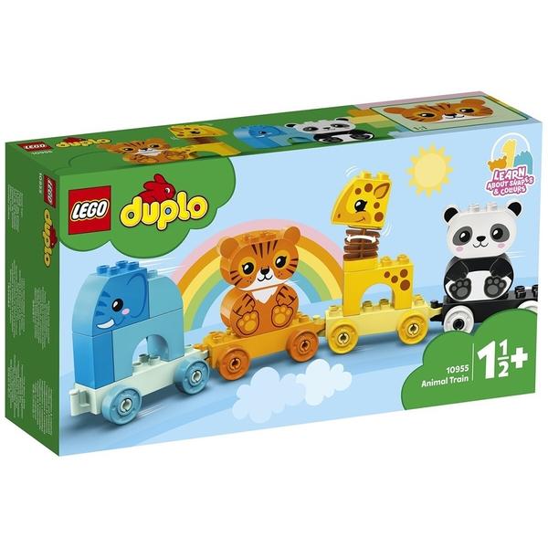 LEGO 樂高 得寶幼兒系列 動物火車_LG10955