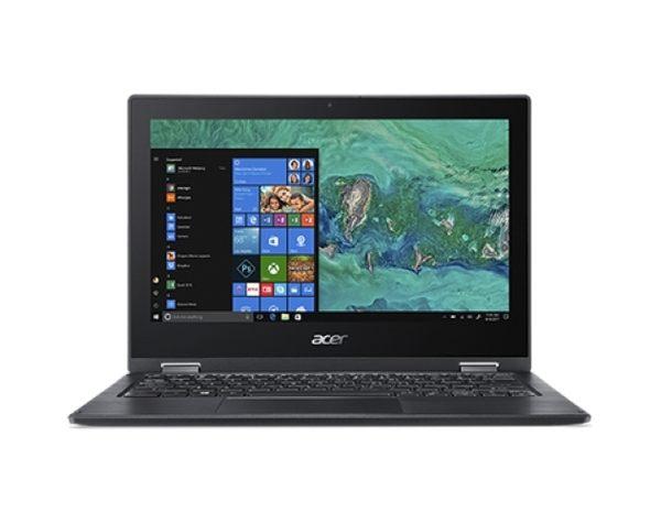 acer SP111-33-P8PJ  11.6吋四核翻轉觸控筆電 (N5000/4G/500G/W10/黑)