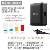 MINIQ 智慧6埠高速充電器(支援QC3.0 /Type-C充電)