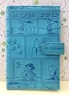 【震撼精品百貨】史奴比Peanuts Snoopy ~SNOOPY證件套-浮雕藍#34397