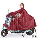 雨衣 電動車摩托車加大加厚 單人雨披 透明大帽檐 摩托車雨衣【aa600】【現+預購】【莎芭】
