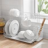 廚房瀝水架碗碟筷架水槽多層置物架整理收納架晾碗滴水架   XY2833   【KIKIKOKO】