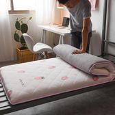 床墊床褥子學生上下鋪宿舍0.9m床1.0單人加厚1.2米可折疊90x190cmWY