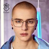 【Front 光學眼鏡】GM1907-三色可挑選(#簡約細方框款光學眼鏡)