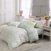 鴻宇 雙人床包薄被套組 天絲300織 甜園花語 台灣製 T20126