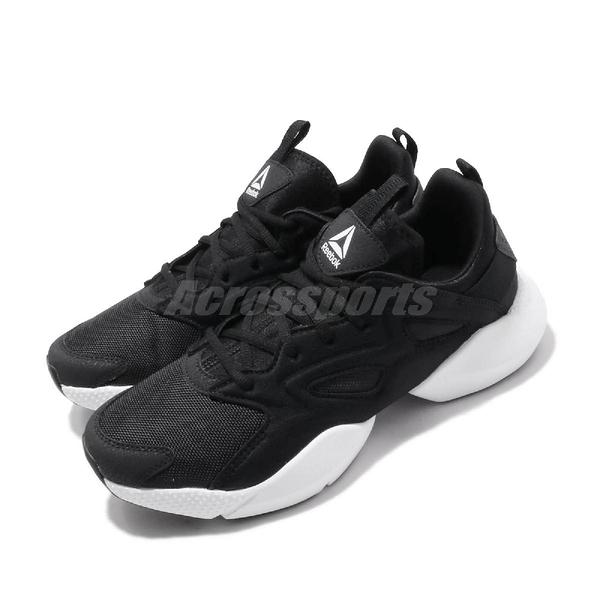 Reebok 慢跑鞋 Sole Fury Adapt 黑白 運動鞋 男鞋 【PUMP306】 DV8925