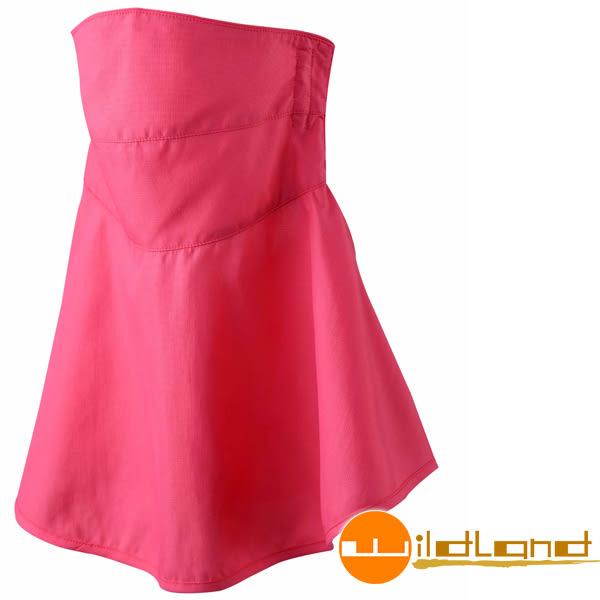 Wildland荒野 W1802-20玫瑰紅 涼感紗抗UV檔布口罩