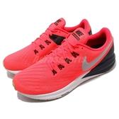 Nike 慢跑鞋 Air Zoom Structure 22 紅 黑 氣墊避震 運動鞋 男鞋【ACS】 AA1636-620