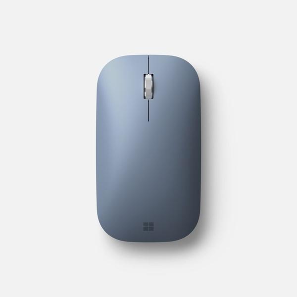 Microsoft 微軟 Surface Mobile Mouse 藍牙無線滑鼠 (冰藍)--(新色上市)