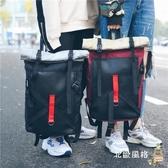 後背包男歐美潮流背包正韓個性學院風原宿時尚學生書包