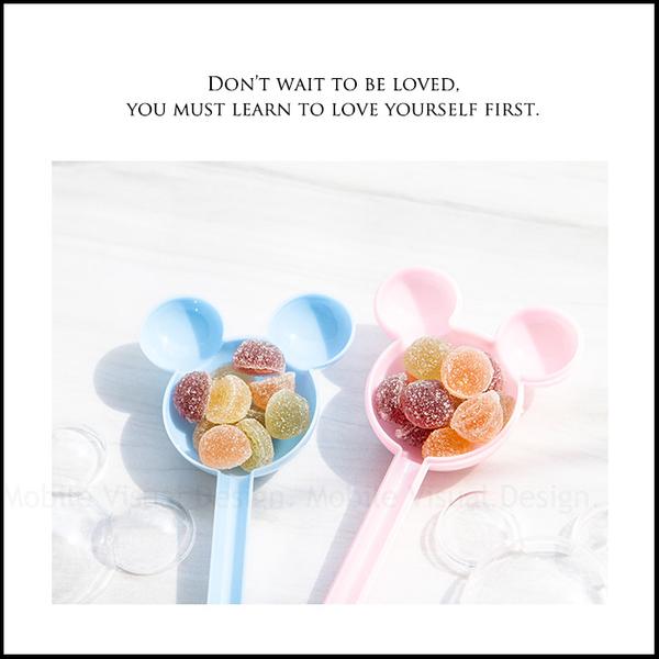 夢幻藍粉米奇糖果棒(QQ軟糖) 二次進場 迎賓擺桌 生日分享 抽獎禮 遊戲活動禮 迪士尼婚禮主題