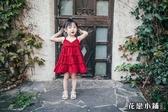 連身裙 女童連身裙夏2018新款女孩韓版雪紡沙灘公主吊帶裙女寶寶洋氣裙子