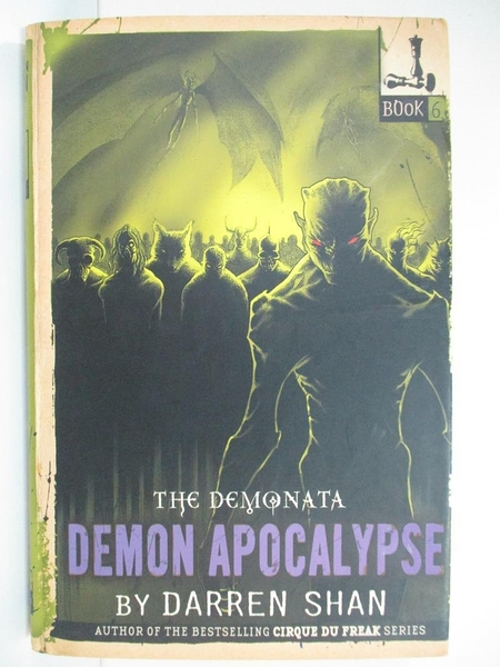 【書寶二手書T3/原文小說_G3G】Demon Apocalypse_Darren Shan
