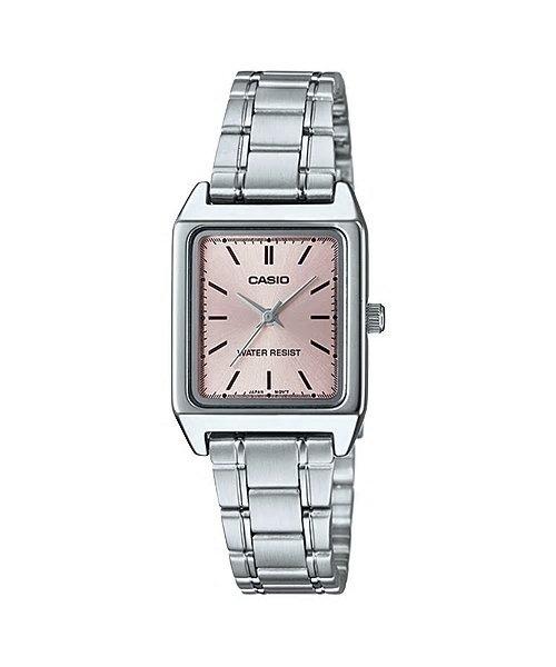 附台灣卡西歐保卡才是公司貨【時間光廊】CASIO 卡西歐 方型 20X20mm 指針錶 LTP-V007D-4E 女錶