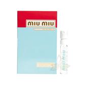 【現貨秒出】MIU MIU 繆斯女神 女性淡香精  針管小香 1.2ml【百奧田旗艦館】