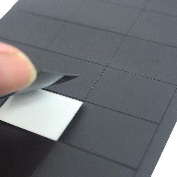 成功 背膠軟磁片 已切割 21317(小)/一小包入(定35) 2cm x 3cm磁鐵片 已切割背膠軟磁片 MIT製-高等