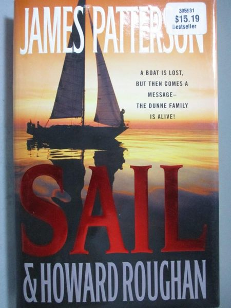 【書寶二手書T5/原文小說_ZEP】Sail_Patterson, James/ Roughan, Howard