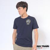Big Train 獅虎鬥圓領T-男-丈青-Z8011958